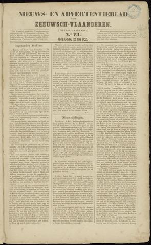 Ter Neuzensche Courant. Algemeen Nieuws- en Advertentieblad voor Zeeuwsch-Vlaanderen / Neuzensche Courant ... (idem) / (Algemeen) nieuws en advertentieblad voor Zeeuwsch-Vlaanderen 1855-05-23