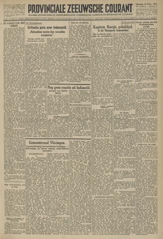 Provinciale Zeeuwse Courant 1946-02-12