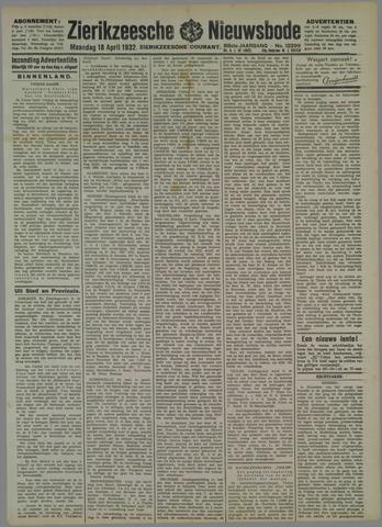 Zierikzeesche Nieuwsbode 1932-04-18