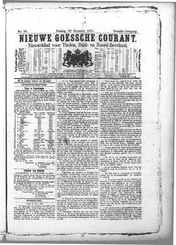 Nieuwe Goessche Courant 1877-11-20