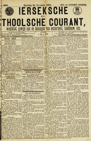Ierseksche en Thoolsche Courant 1905-11-25