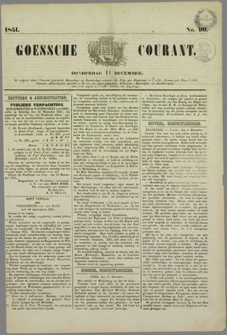 Goessche Courant 1851-12-11