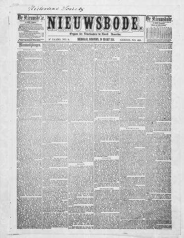 Sheboygan Nieuwsbode 1858-03-30