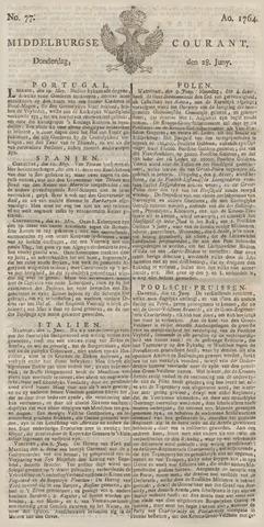 Middelburgsche Courant 1764-06-28