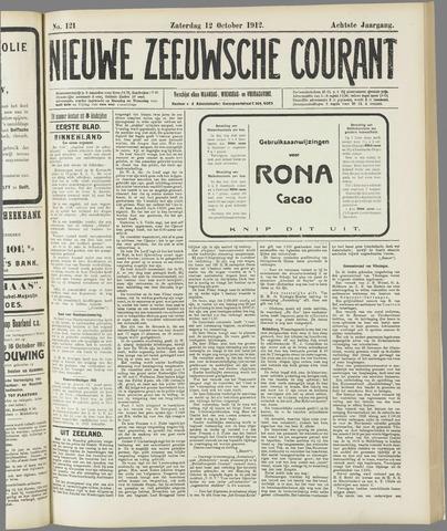 Nieuwe Zeeuwsche Courant 1912-10-12
