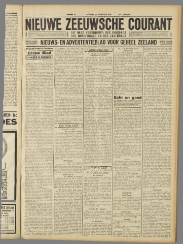 Nieuwe Zeeuwsche Courant 1932-08-27