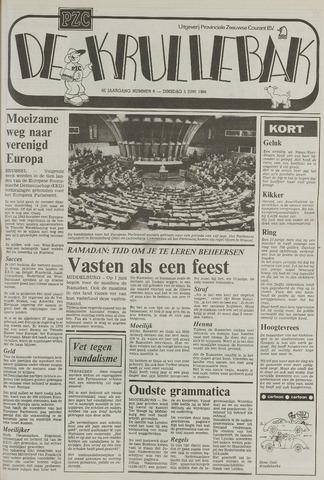 Provinciale Zeeuwse Courant katern Krullenbak (1981-1999) 1984-06-05