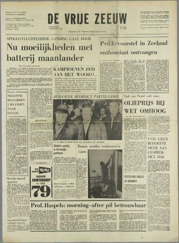 de Vrije Zeeuw 1971-02-04