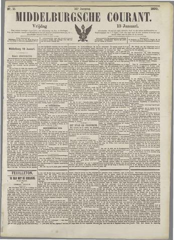 Middelburgsche Courant 1899-01-13