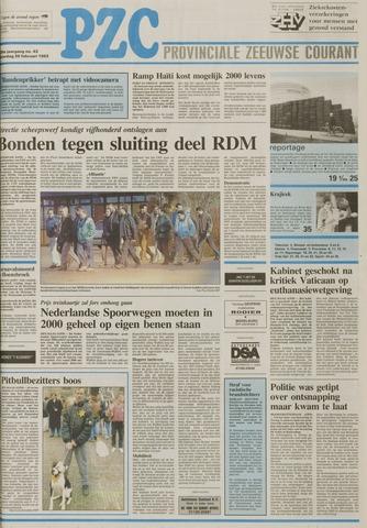 Provinciale Zeeuwse Courant 1993-02-20