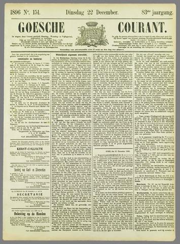 Goessche Courant 1896-12-22