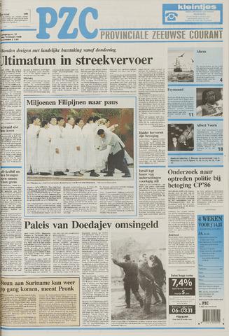 Provinciale Zeeuwse Courant 1995-01-16