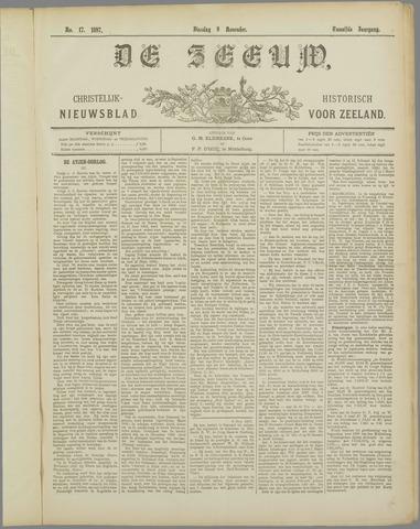 De Zeeuw. Christelijk-historisch nieuwsblad voor Zeeland 1897-11-09