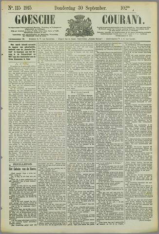 Goessche Courant 1915-09-30