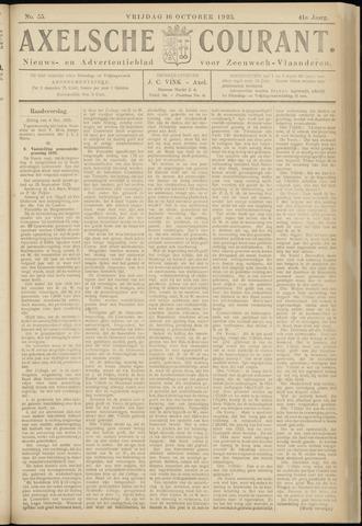 Axelsche Courant 1925-10-16