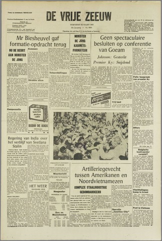 de Vrije Zeeuw 1967-03-22