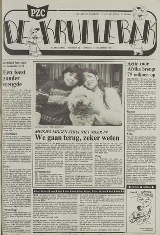 Provinciale Zeeuwse Courant katern Krullenbak (1981-1999) 1984-12-11