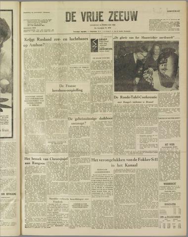 de Vrije Zeeuw 1960-02-16