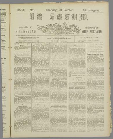 De Zeeuw. Christelijk-historisch nieuwsblad voor Zeeland 1911-10-30