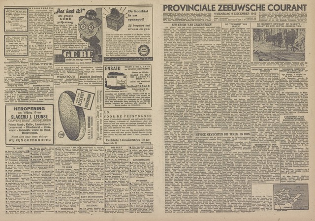 Provinciale Zeeuwse Courant 1942-12-09