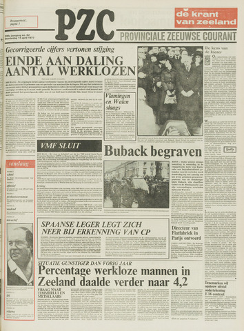 Provinciale Zeeuwse Courant 1977-04-14