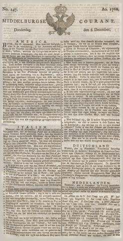 Middelburgsche Courant 1768-12-08