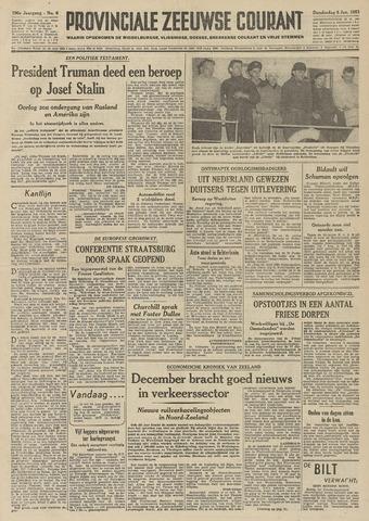 Provinciale Zeeuwse Courant 1953-01-08