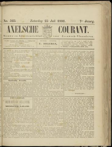 Axelsche Courant 1891-07-25