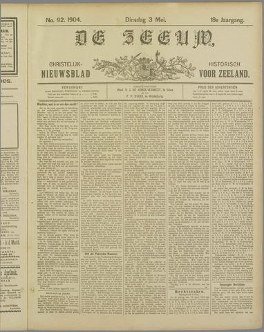 De Zeeuw. Christelijk-historisch nieuwsblad voor Zeeland 1904-05-03