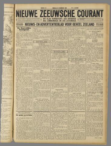 Nieuwe Zeeuwsche Courant 1931-12-29