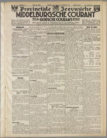 Middelburgsche Courant 1933-08-22