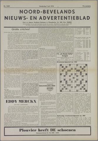 Noord-Bevelands Nieuws- en advertentieblad 1970-07-09