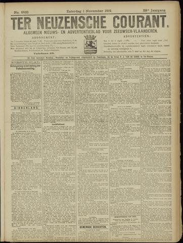 Ter Neuzensche Courant. Algemeen Nieuws- en Advertentieblad voor Zeeuwsch-Vlaanderen / Neuzensche Courant ... (idem) / (Algemeen) nieuws en advertentieblad voor Zeeuwsch-Vlaanderen 1919-11-01