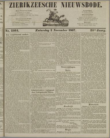 Zierikzeesche Nieuwsbode 1867-11-02