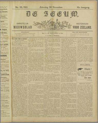 De Zeeuw. Christelijk-historisch nieuwsblad voor Zeeland 1901-11-30