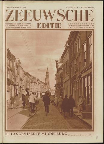 Ons Zeeland / Zeeuwsche editie 1931-02-06