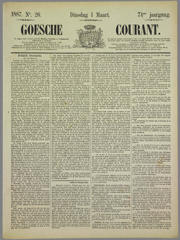 Goessche Courant 1887-03-01