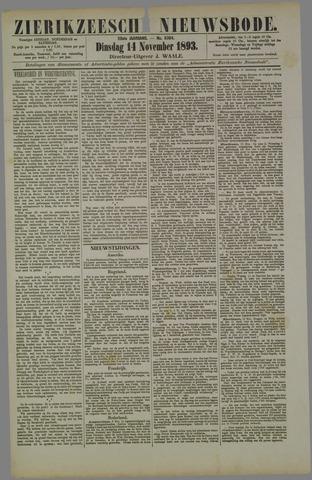 Zierikzeesche Nieuwsbode 1893-11-14