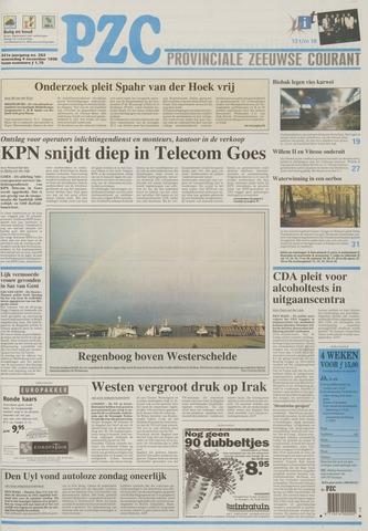 Provinciale Zeeuwse Courant 1998-11-04