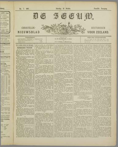 De Zeeuw. Christelijk-historisch nieuwsblad voor Zeeland 1897-10-16