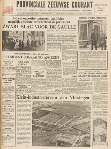 Provinciale Zeeuwse Courant 1967-03-13