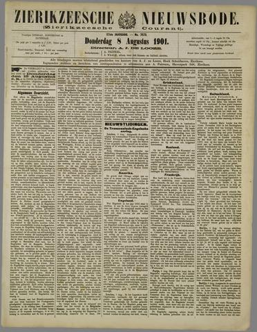 Zierikzeesche Nieuwsbode 1901-08-08