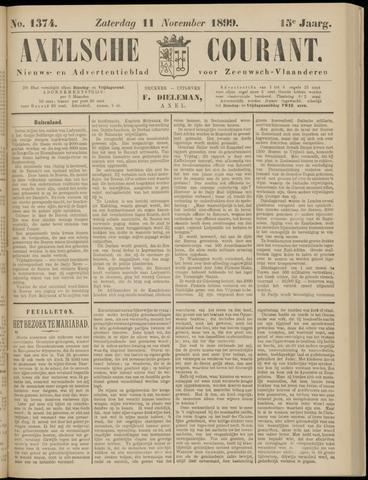 Axelsche Courant 1899-11-11
