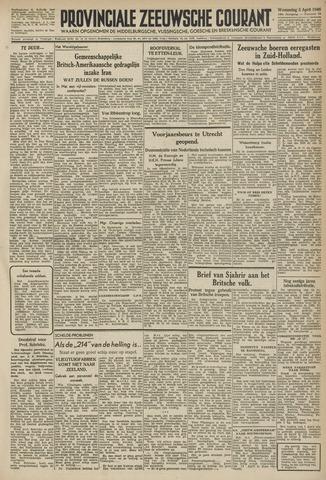 Provinciale Zeeuwse Courant 1946-04-03
