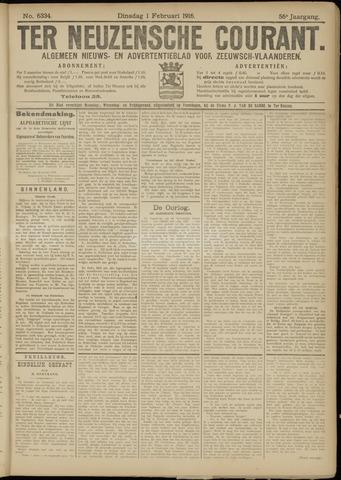 Ter Neuzensche Courant. Algemeen Nieuws- en Advertentieblad voor Zeeuwsch-Vlaanderen / Neuzensche Courant ... (idem) / (Algemeen) nieuws en advertentieblad voor Zeeuwsch-Vlaanderen 1916-02-01