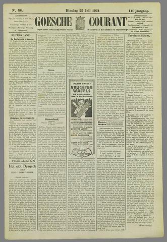 Goessche Courant 1924-07-22