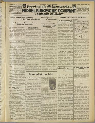 Middelburgsche Courant 1939-09-15