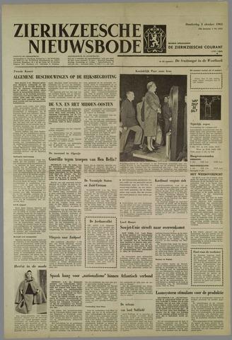 Zierikzeesche Nieuwsbode 1963-10-03