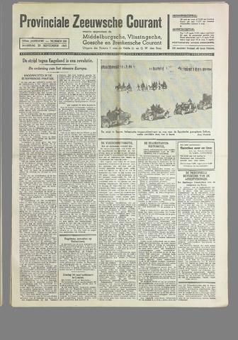 Provinciale Zeeuwse Courant 1940-09-23