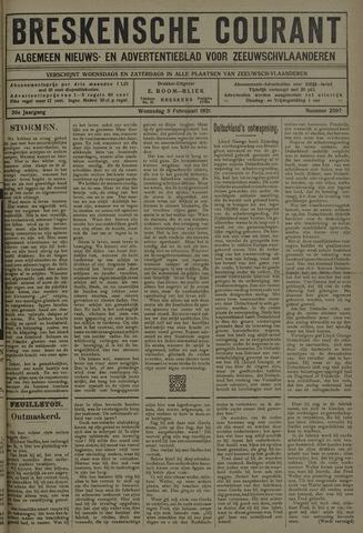 Breskensche Courant 1921-02-09